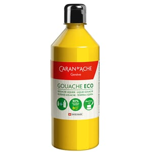 Caran d'Ache: Primary Yellow - Gouache ECO liquid, 500 ml