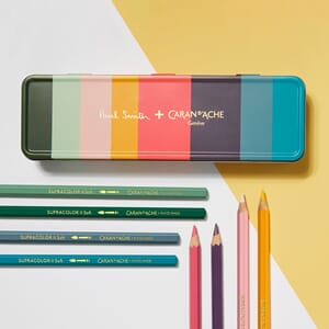 Caran d'ache: Supracolor Paul Smith LIMITED EDITION set
