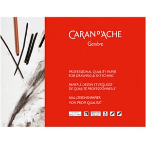 Caran d'Ache: Professional Drawing & Sketching Paper Pad