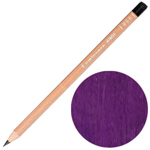 Caran d'Ache: Permanent quinacridone purple - Luminance