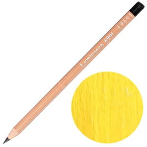 Caran d'Ache: Permanent cadmium yellow - Luminance
