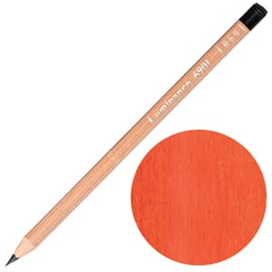 Caran d'Ache: Permanent dark cadmium orange - Luminance