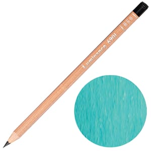 Caran d'Ache: Permanent chrysocolla blue - Luminance