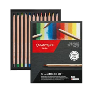 Caran d'ache: Luminance Colour Pencils, 12/Pkg
