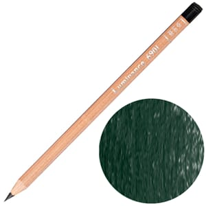 Caran d'Ache: Permanent dark phtalocyanine green - Luminance
