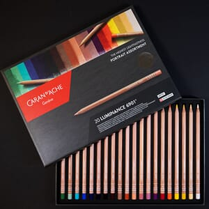 Caran d'ache: PORTRAIT Luminance Colour Pencils, 20/Pkg