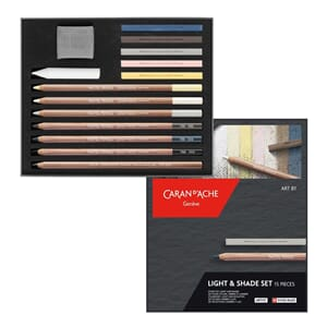 Caran d'Ache: Light & Shade set, 15/Pkg