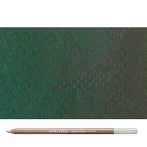 Caran d'Ache: Middle phthalocyanine green - Pastel Pencil