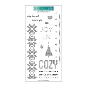 Concord & 9th: Cozy Christmas Clear Stamps, 4x8 inch