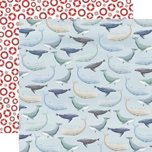 Carta Bella: Whales - By The Sea
