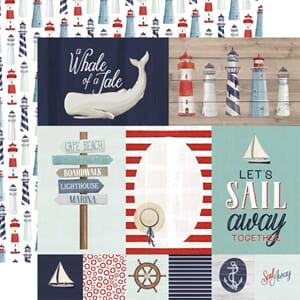 Carta Bella: Journaling Cards - By The Sea