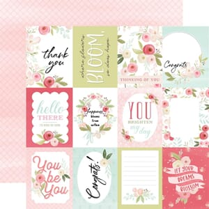 Carta Bella: Subtle Journaling Cards - Flora No. 7