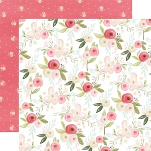 Carta Bella: Subtle Large Floral - Flora No. 3