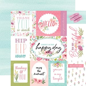 Carta Bella: Bright Journaling Cards - Flora No. 4