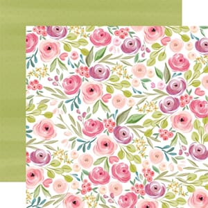 Carta Bella: Bright Large Floral - Flora No. 3