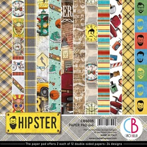 Ciao Bella: Hipster Paper Pack, 6x6, 24/Pkg