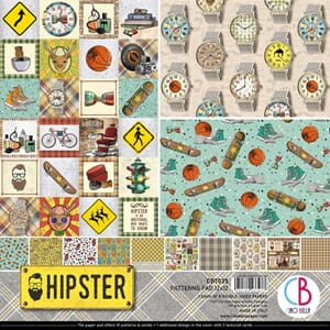 Ciao Bella: Hipster Paper Pack, 12x12, 12/Pkg