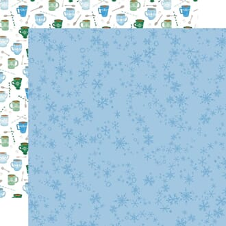 Carta Bella: Swirly Snowflakes - Winter Market