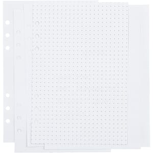 Journal & Planner - Notatark dots, A5, 6 rings