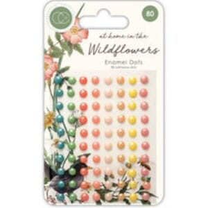 Craft Consortium: Wildflower Adhesive Pearls, 80/Pkg