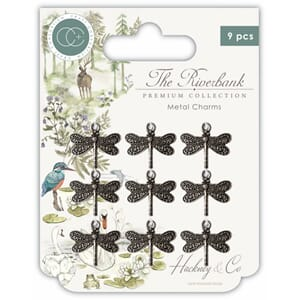 Craft Consortium: The Riverbank Dragonfly Charms
