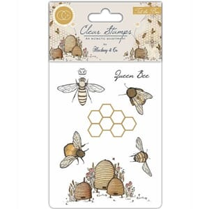 Craft Consortium: Tell the Bees Clear Stamps