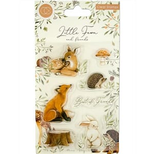 Craft Consortium: Little Fawn Best Friends Clear Stamps