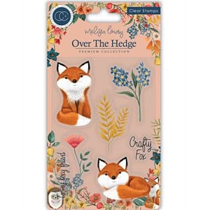 Craft Consortium: Over The Hedge Clear Stamps, 4x6 inch