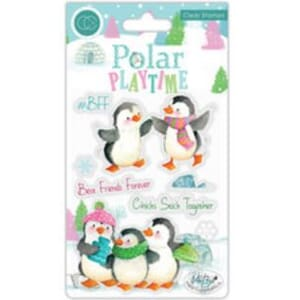 Craft Consortium: Polar Playtime BFF Clear Stamps