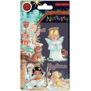Craft Consortium: Nativity Clear Stamps Angels
