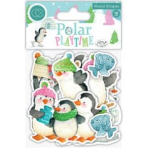 Craft Consortium: Polar Playtime Wood Shapes