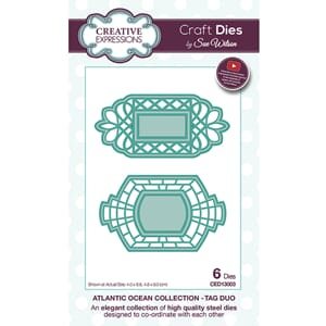 Creative Expressions: Tag duo die, 2/Pkg