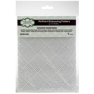 Creative Expressions: Graded Diamonds - PinPoint Embossing F