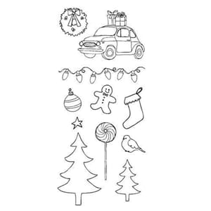 Claudine Hellmuth: Christmas - Clear Stamps