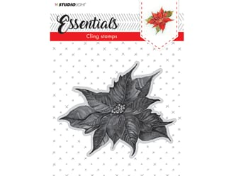 Studio Light Cling Stamp Essentials - Christmas 04