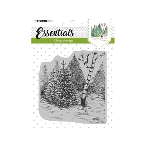 Studio Light Cling Stamp Essentials - Christmas 14