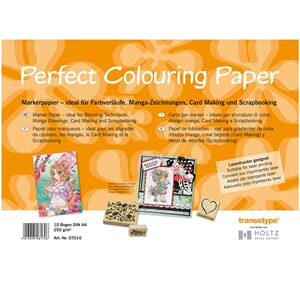 Perfect Colouring Paper, A3 250gr, 10 ark