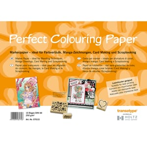 Perfect Colouring Paper, A4 250gr, 50 ark