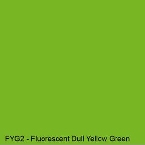 Copics Sketch - FLUORESCENT DULL YELLOW GREEN