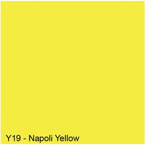 Copics Sketch - NAPOLI YELLOW