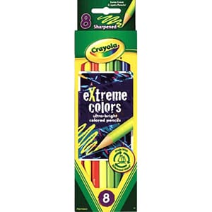 Crayola: Extreme Colored Pencils, 8/Pkg