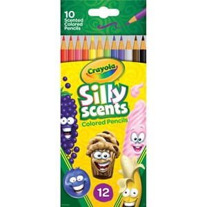 Crayola: Silly Scents Colored Pencils, 10/Pkg