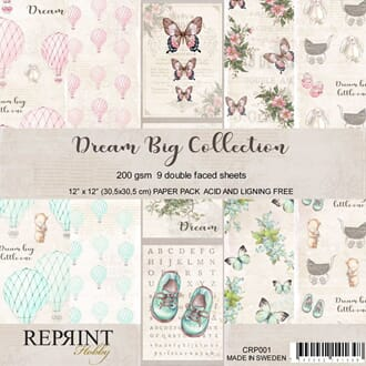 Reprint: Dream Big Collection Pack, 12 x12 inch