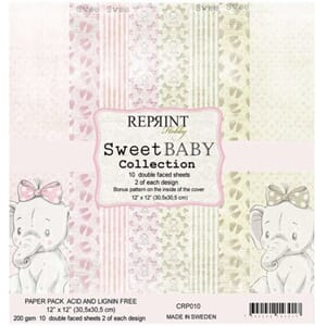 Reprint: Sweet Baby Pink Collection, 12x12, 10/Pkg
