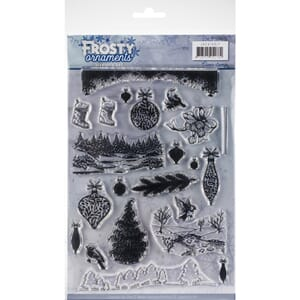 Find It Trading: Frosty Ornaments Jeanine's Art Clear Stamp