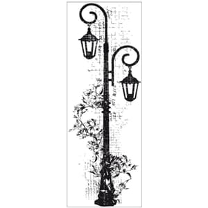Kaisercraft: Clear Stamps - Decorative Lamp
