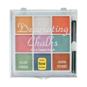 Craf-T: Decorating Chalk 9 Color Set - Pastels