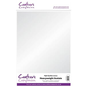 Crafter's Companion: Heavyweight Acetate, A3, 10/Pkg