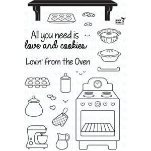 Your Next Stamp: Lovin' From The Oven Clear Stamps, 4x6 cm