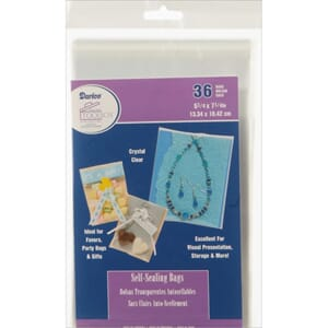Darice: Clearbags - Self-Sealing Bags, 36/Pkg